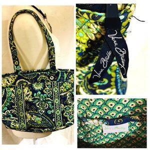 Vera Bradley Rhythm & Blues Shoulder Handbag Purse